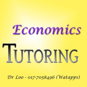 Economics Home Tutor Petaling Jaya