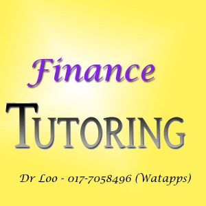 Finance Home Tutor Petaling Jaya