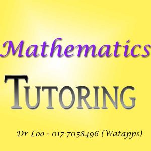 Mathematics Home Tutor Petaling Jaya