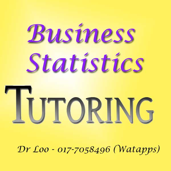 Business Statistics Home Tuition in Ampang
