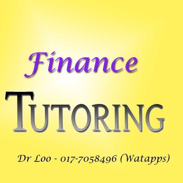 Finance Home Tuition in Senai