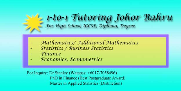 A-level Mathematics Home Tutor Permas-Jaya
