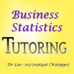 Business Statistics Home Tutor