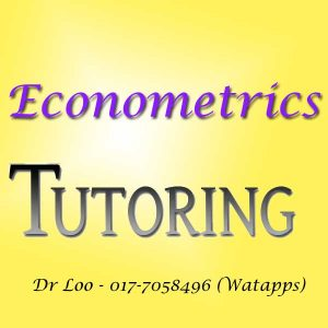 Econometrics Home Tutor