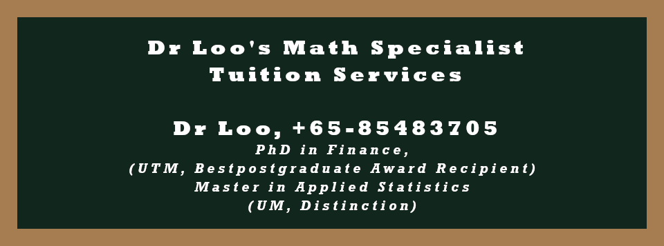H2 Mathematics Tuition Singapore